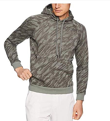 Hellomiko Sweat à Capuche pour Hommes Pull Camouflage avec Cordon de Serrage Top Sweat à Capuche Classique