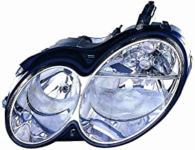 Depo 340-1116L-AS Mercedes-Benz C55 Driver Side Composite Headlamp Assembly with Bulb and Socket