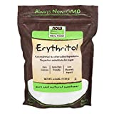 Now Foods Pure Erythritol Powder, 2.5 lbs (Pack of 4)