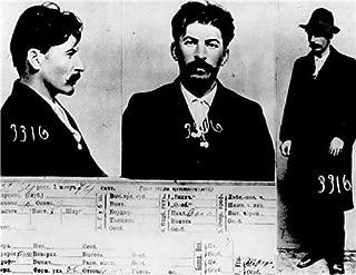 JOSEPH STALIN MUG SHOT GLOSSY POSTER PICTURE PHOTO mugshot soviet communism