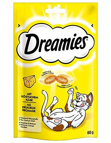Dreamies Katzensnacks Klassiker mit Käse, Probiergröße, (1 x 60 g)