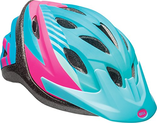 Bell Axle Youth Bike Helmet, Blue Tigris