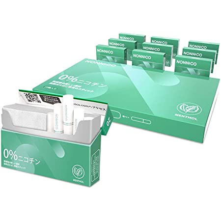 加熱式タバコ NONNICO ノンニコ メンソール 1カートン (10箱入り) IQOS互換機用
