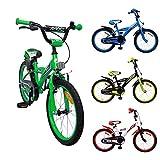 AMIGO - BMX Turbo - Bicicletta Bambini - 18'' (per 5-8 Anni) - Verde