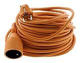 Zenitech Prolongateur de jardin 16A HO5VV-F 3G1,5 Orange 25m