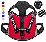 Cymiler Dog Harness,No-Pull Service Dog Harness with Handle,Adjustable...