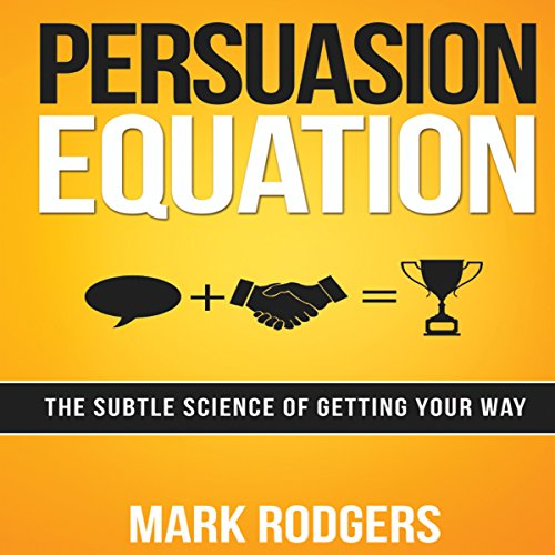 Persuasion Equation audiobook cover art