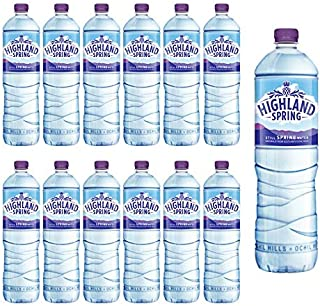 Highland Spring Water Still PET 1.5 Litre - (Pack of 12)