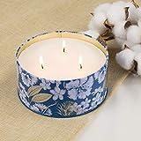 Duftkerze Soja Kerze Groß 400g 3 Dochte, Baumwolle Duft Natürliches Aromatherapie Mama - 4