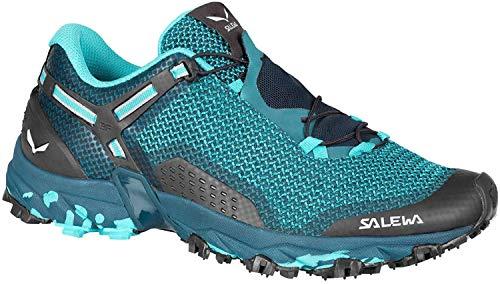 Salewa MS Mountain Trainer, Chaussures de trekking et de randonnée Homme, Bleu (Ombre Blue/Tender Shot), 35 EU
