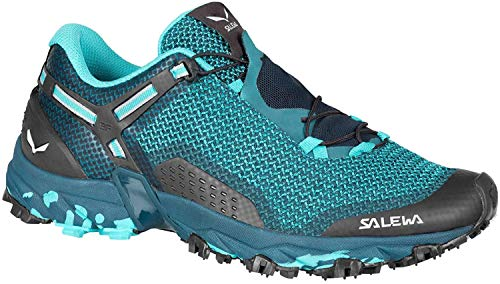 Salewa MS Mountain Trainer, Chaussures de trekking et de randonnée Homme, Bleu (Ombre Blue/Tender Shot), 41 EU