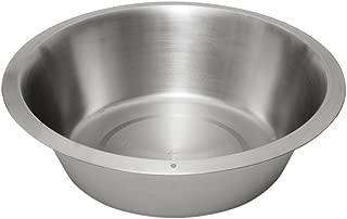 Lindy's 12 Quart Stainless Steel Flat Bottom Dish Pan