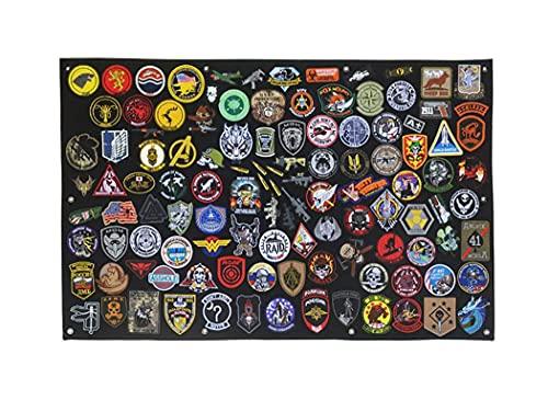 108 x 70cm Panneau de brassage tactique militaire avec panneau de correction de moral, crochet et boucle