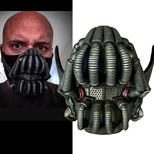 Bane Halbmaske Batman Filmcharakter Die Dark Knight Rises Maske Halloween Cosplay Kostüm Prop