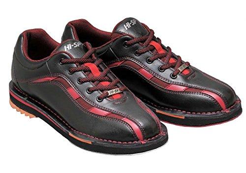 HI-SP ボウリング シューズ HS-925 ブラック・レッド 29.5cm ハイ スポーツ ボウリング用品 靴 ボーリング グッズ
