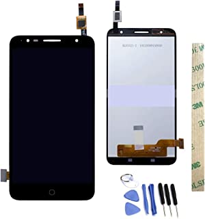 Dr.Chans LCD Display Screen Touch Digitizer Assembly Replacement with Free Tools for Alcatel Pop 4+ 5056M 5056N 5056W OT 5056 5056A 5056D Black