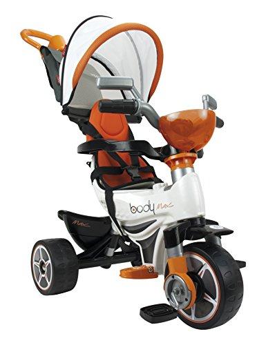 INJUSA Triciclo Body MAX Naranja para Bebés a Partir de 10 Meses con...