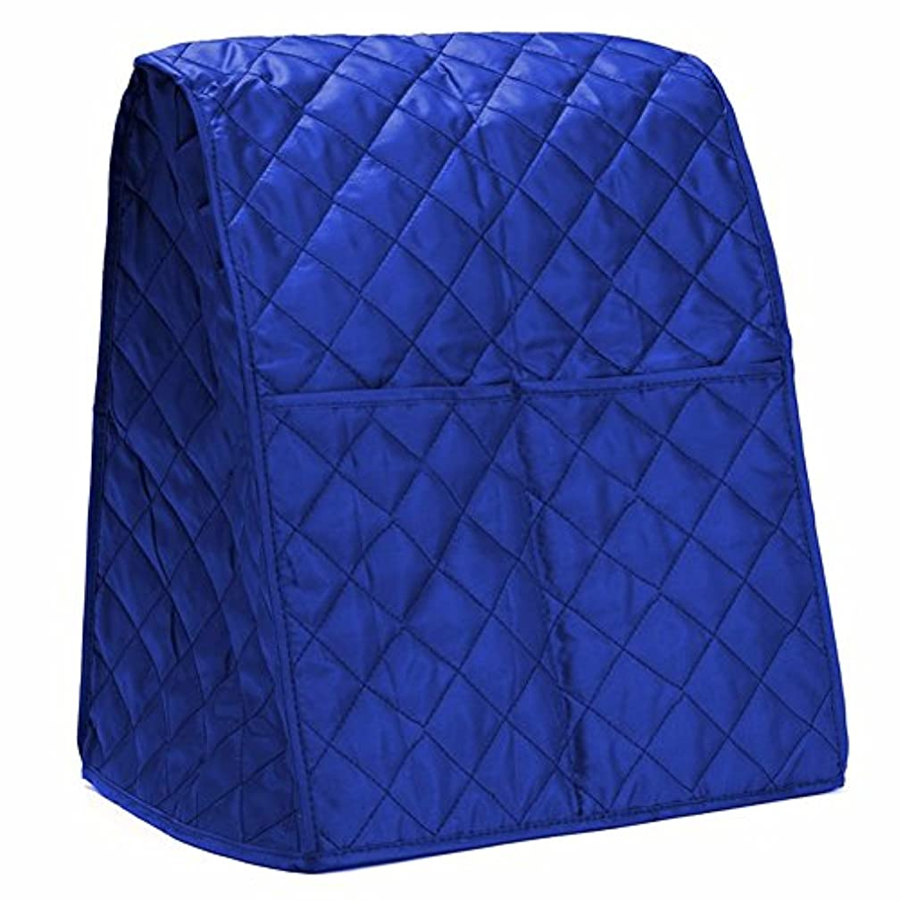 MeterMall Cloth Quilted Blender Cover Dustproof Organizer Bag For Kitchen(blue)