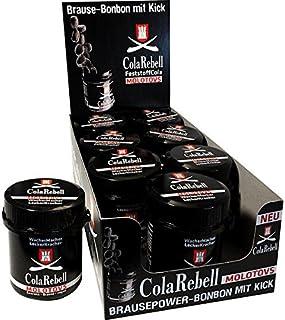 Cola Rebell Molotovs mit Brause und Guarana, 8er Pack 8 x 70 g