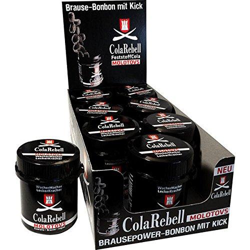 Cola Rebell Molotovs mit Brause und Guarana, 8er Pack (8 x 70 g)