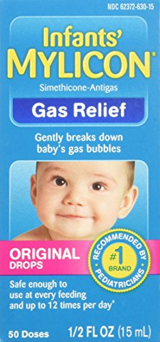 Mylicon Gas Relief Drops for Infants and Babies, Original Formula, 0.5 Fluid Ounce