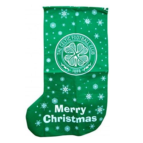 Celtic FC Novelty Christmas Jumbo Present Stocking (One Size) (Green)