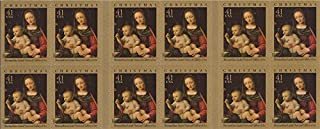 US Stamp 2007 Christmas Madonna & Child Booklet of 20 Stamps #4206a