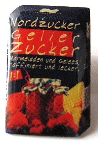 Nordzucker - Gelierzucker - Pin 23 x 15 mm - Motiv 1