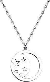 Star CrescentMoonPendantNecklaceILoveYoutoTheMoonandBackNecklace