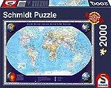 Schmidt Spiele - Puzzle con marco, 2000 piezas (57041)