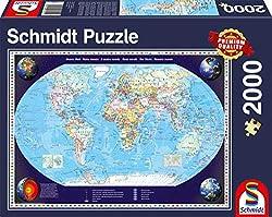 Welt Puzzle, 2000 Teile