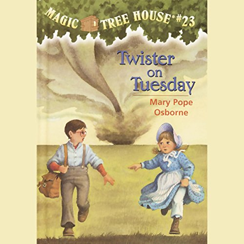 Magic Tree House, Book 23 audiobook cover art
