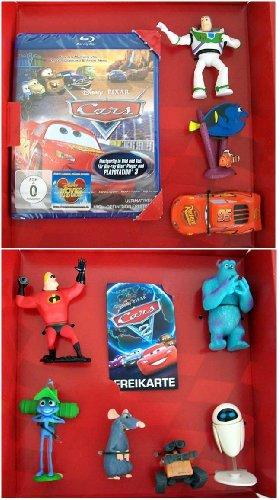 Disney * Pixar CARS FANBOX incl. Blu-ray Disc CARS + 9 Sammelfiguren + Kinoticket