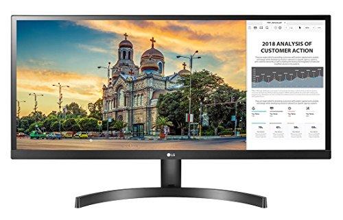 LG 29' 29WK500-P LED IPS LCD Monitor Dual HDMI UltraWide 21:9 AMD FreeSync Screen Split 2.0 - Black