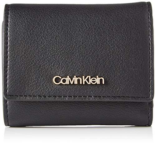 Calvin Klein Damen Wallets Geldbörsen, Schwarz, One Size
