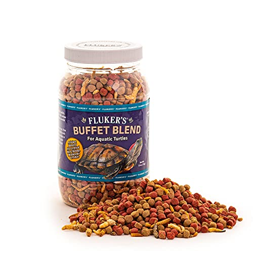 Fluker's Buffet Blend Aquatic Turtle Food , 7.5-Ounce
