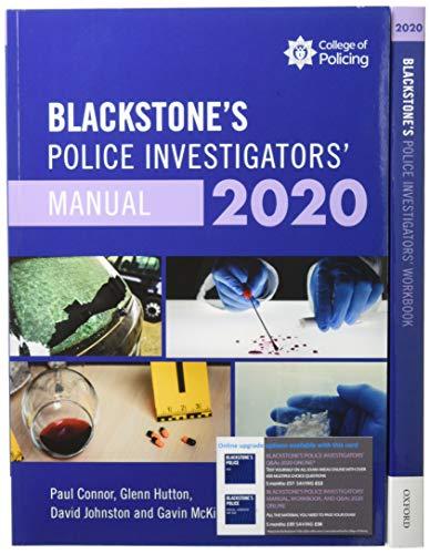 Blackstone's Police Investigators' 2020