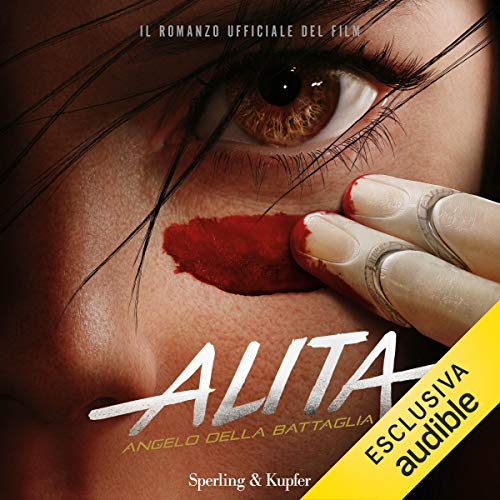 Alita audiobook cover art