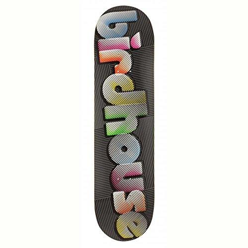 Birdhouse Skateboard-Deck Blur - 8 Inch Schwarz-Multi (One Size , )