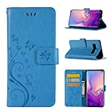 for Samsung Galaxy A6 2018 Case LAPOPNUT PU Leather Flip