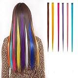 6 piezas extensiones de cabello