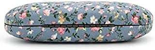 Flyme Hard Glasses Case Cute Cloth Floral Folding Eyeglasses Case Spectacle Protective Box Storage Travel Portable