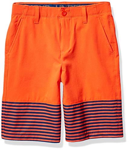 Under Armour Jungen Mp Vented Nov Shorts, Jungen, 1306054, Neon Coral (985)/Neon Coral, 10