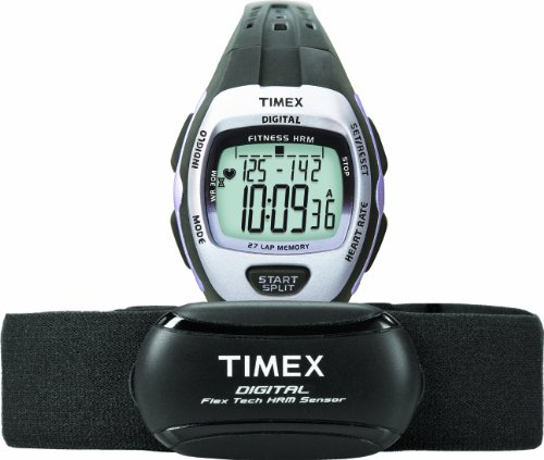 Timex Women's Quartz Watch with LCD Dial Digital Display and Black Resin...