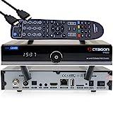 Octagon SF8008 - Receptor 4K UHD HDR Combo 1 x DVB-S2X y 1 x DVB-C/DVB-T2, señal por satélite, cable y terrestre, E2 Linux Smart TV Box, Media Server, función de grabación, HDMI EasyMouse, wifi dual