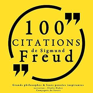 Couverture de 100 citations de Sigmund Freud