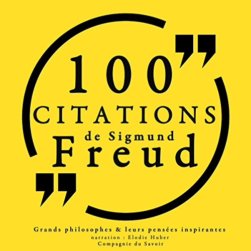 100 citations de Sigmund Freud  By  cover art