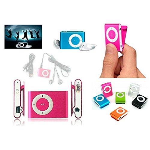 20 MP3-speler-clip + hoofdtelefoon + USB-kabel in box – details en herinneringen voor huwelijk, communie.