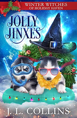 Jolly Jinxes: A Christmas Paranormal Cozy Mystery by [J. L.  Collins]
