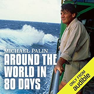 Michael Palin: Around the World in 80 Days audiobook cover art